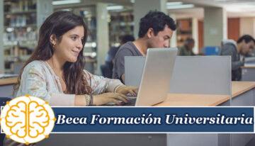 Beca Formación Universitaria