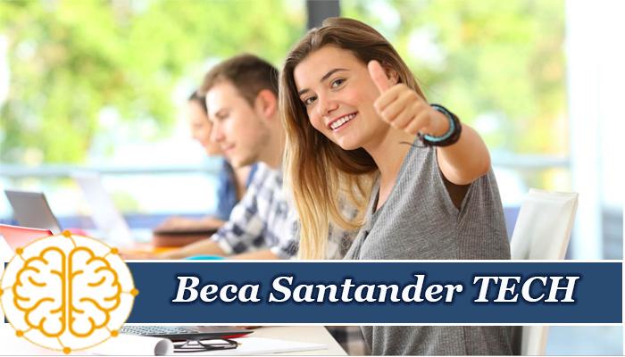 Beca Santander TECH