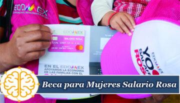 Beca para Mujeres Salario Rosa