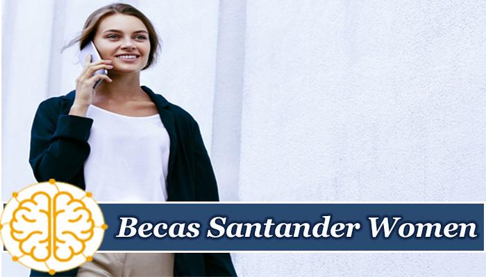 Becas Santander Women