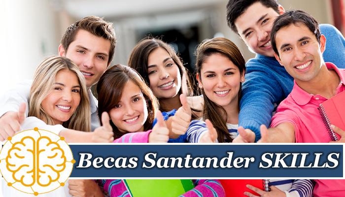 Becas Santander SKILLS